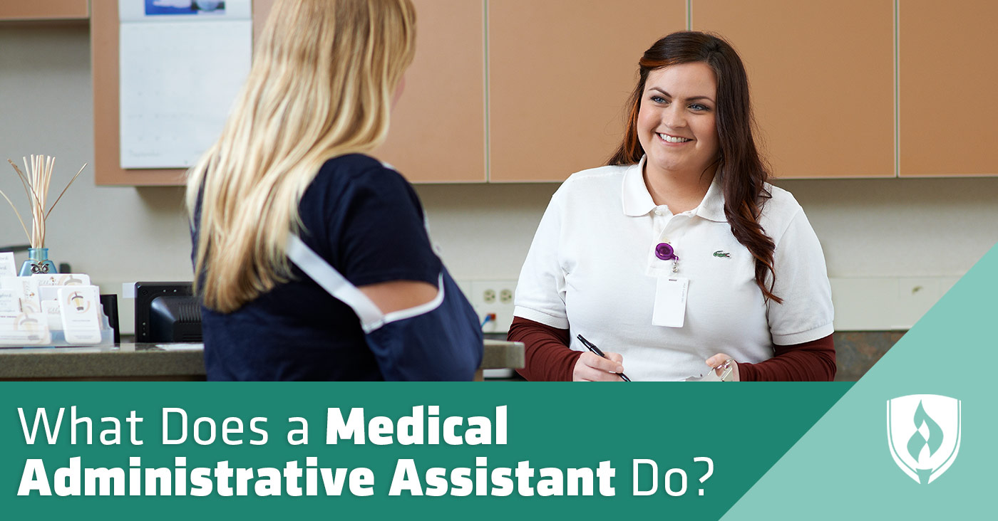 Administrative Assistant What Does A Medical Administrative Assistant Do A Closer Look