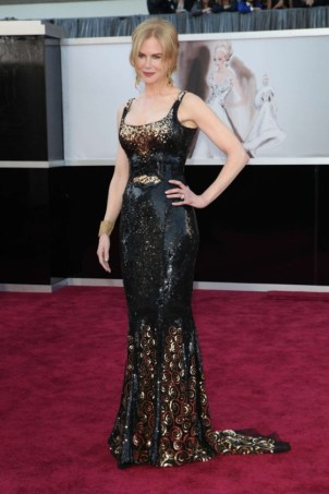 Nicole Kidman in L'Wren Scott in 2013
