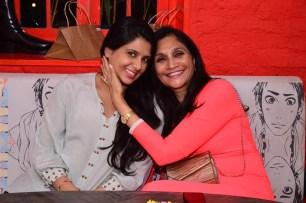 Sylvia Qureshi with Neelima Dalmia Adhar