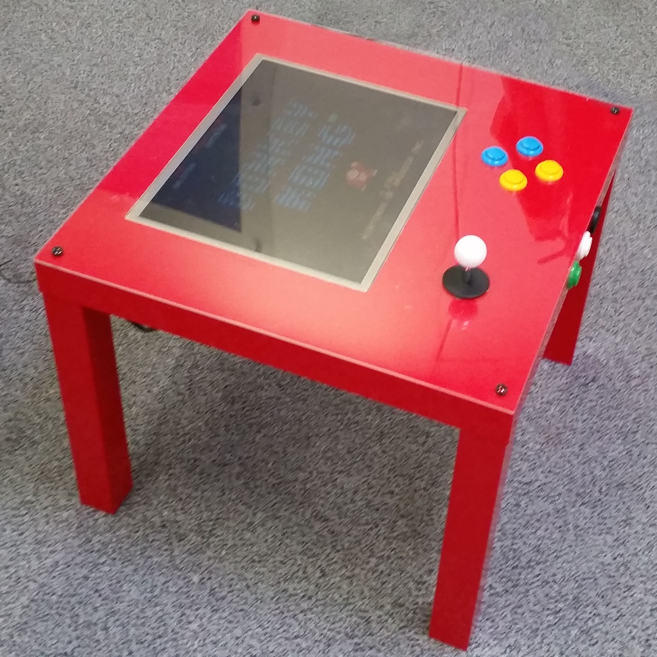 Table Basse Vintage Ikea A Raspberry Pi Ikea Arcade Table To Make Yourself Raspberry Pi
