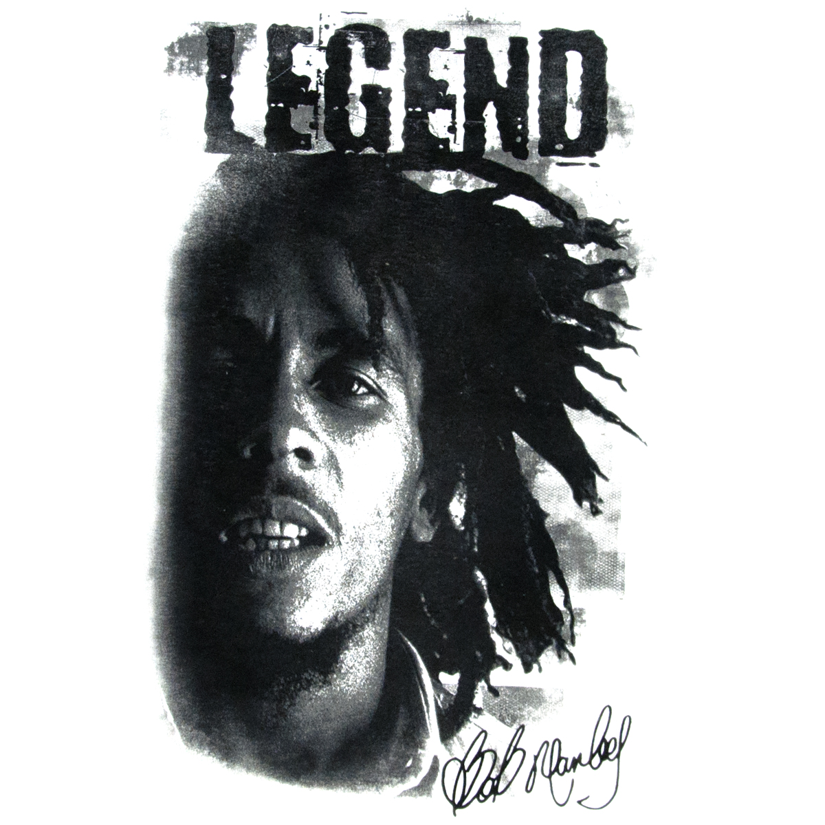 Best Black And White Posters Bob Marley Legend White Tank Top