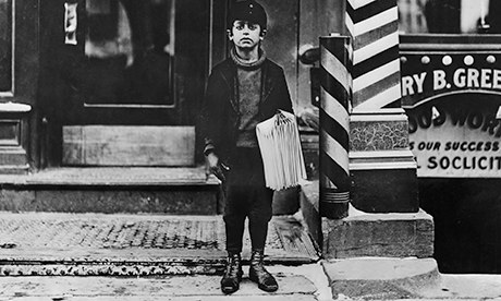 Newsboy, Connecticut 1909