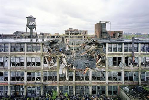 デトロイトの廃墟画像3