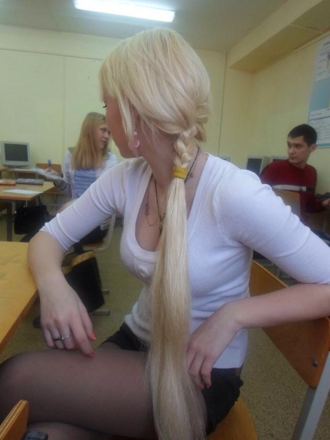 白人女11