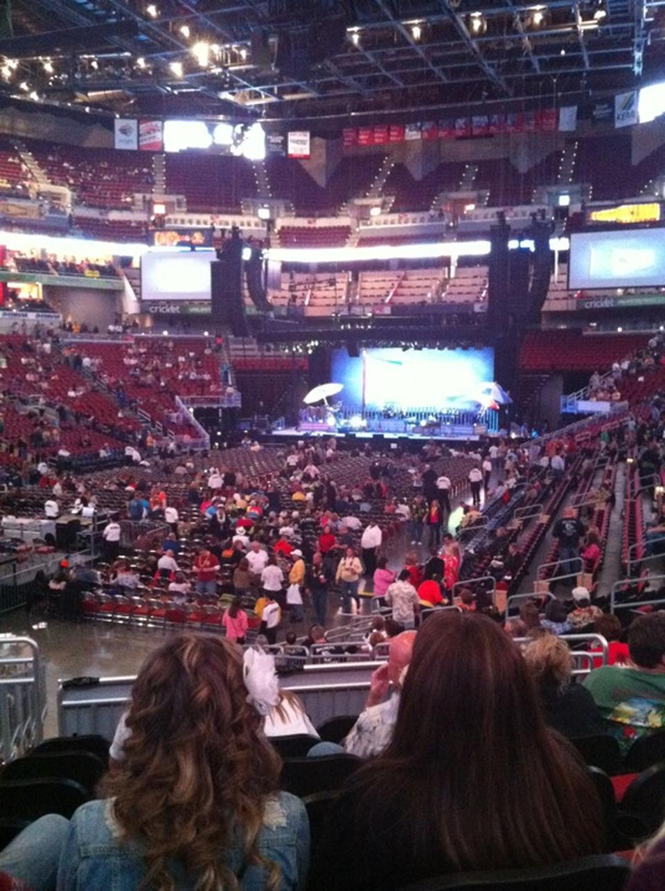 Bad Setup Kfc Yum! Center Section 109 Concert Seating