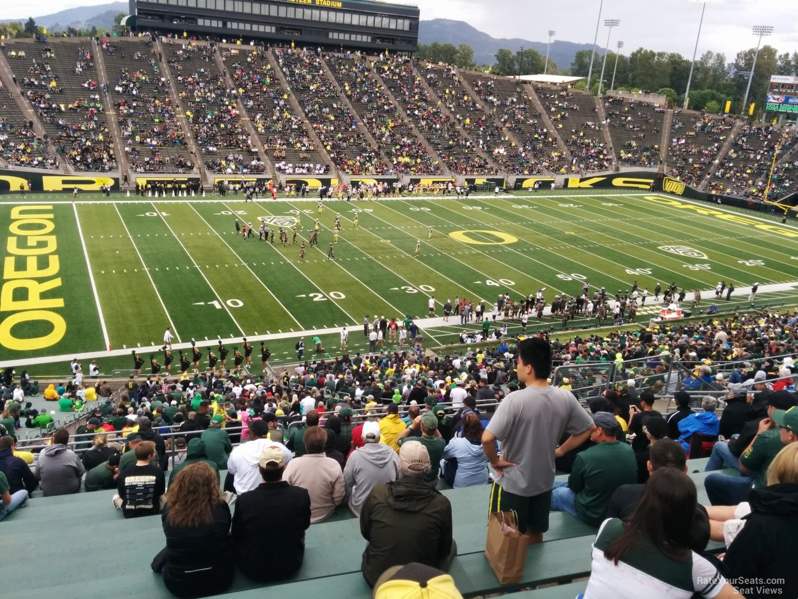 Autzen Stadium Section 34 Rateyourseats Com - Paragraph 34
