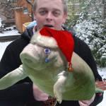 Christmas Manatee