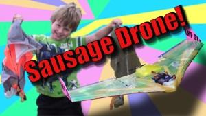 Project Sausage Drone Stage 2 – Sausage Parachute Drop
