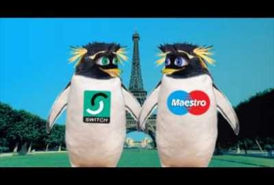"Switch/Maestro ""Penguins in Paris"" TV commercial"