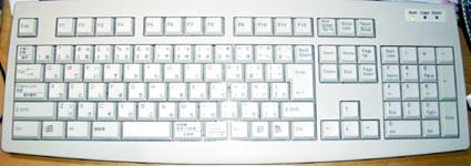 MITSUMI製ミニ・キーボード(型番:KEK-EA9AU)
