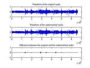 Watermarkwaveform