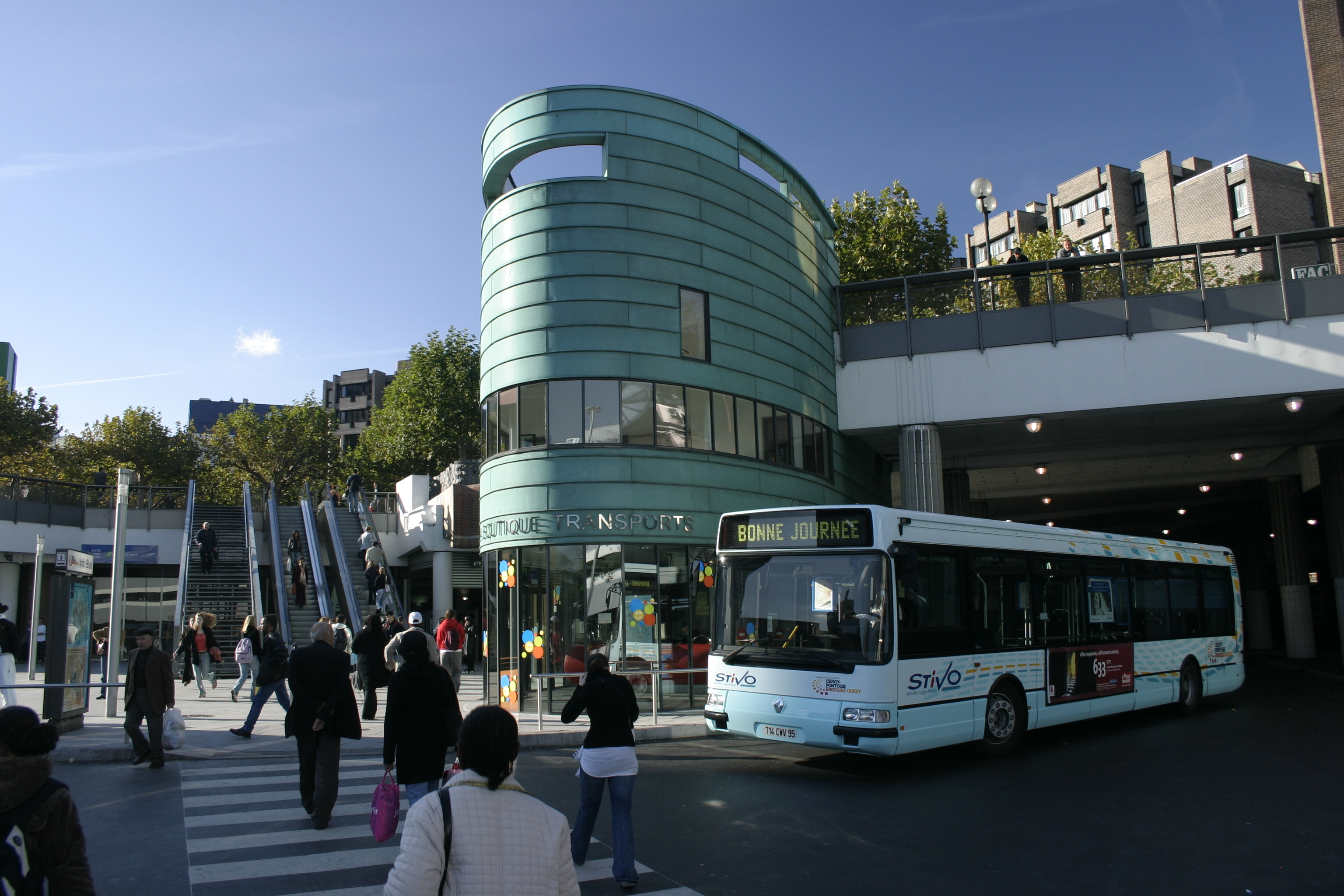 Paris Bourges Bus Cergy Pontoise Ratpdev