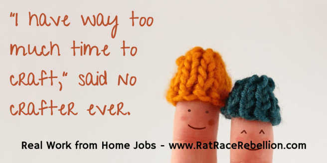 Work from Home Crafting and Handiwork jobs