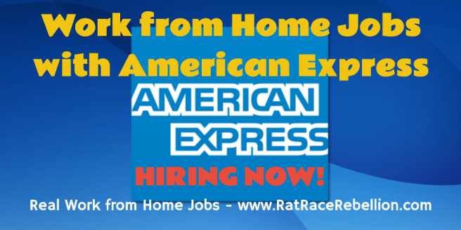 Work from Home Jobs with American Express - Hiring Now