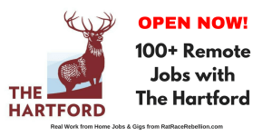 100+ Remote Jobs with The Hartford - OPEN NOW