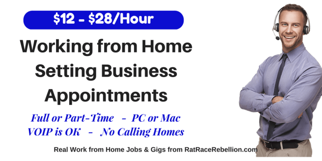 Earn $12 - $28/Hour Appointment Setting