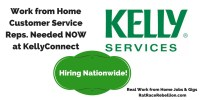 Work from Home Customer Service Reps. Needed NOWat KellyConnect (2)
