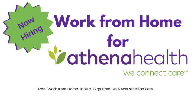Work from Home for athenahealth