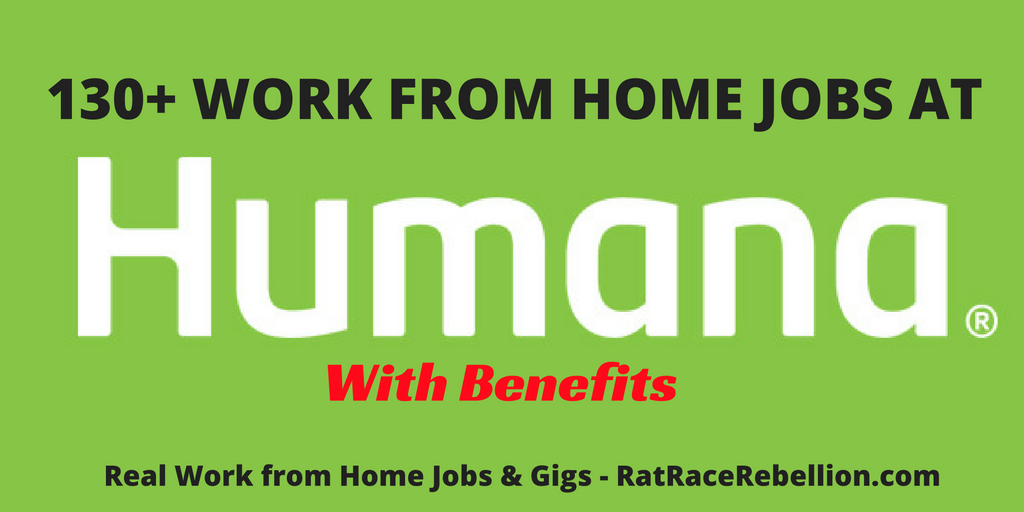 Work from Home Jobs at Humana Open Now - With Benefits