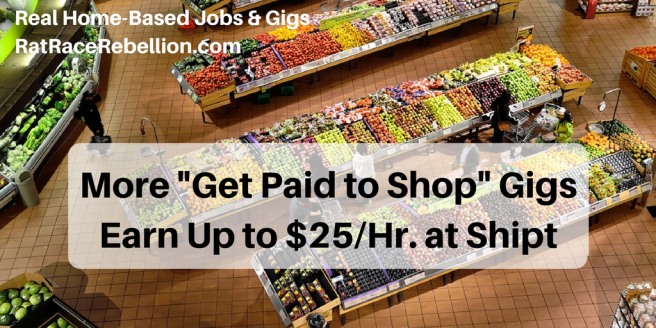 More -Get Paid to Shop- GigsEarn Up to $25%2FHr. at Shipt