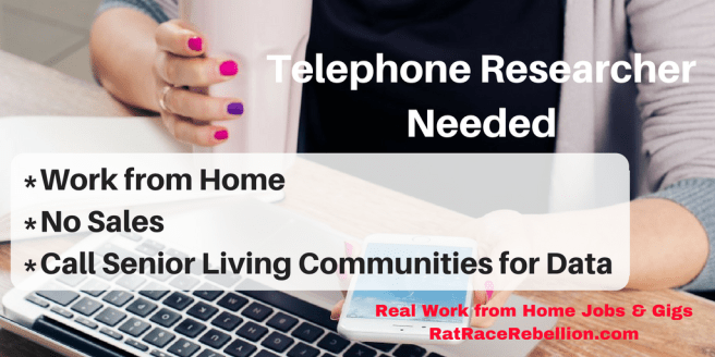 Telephone Researcher Needed