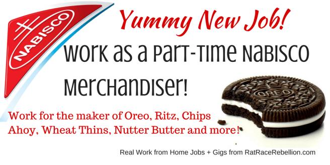 Work as a Part-Time Nabisco Merchandiser!