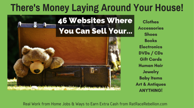 46 Places to Sell Your Old Stuff (Anything) Online