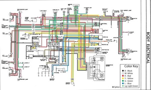 Datsun 521 Wiring Diagram Wiring Schematic Diagram