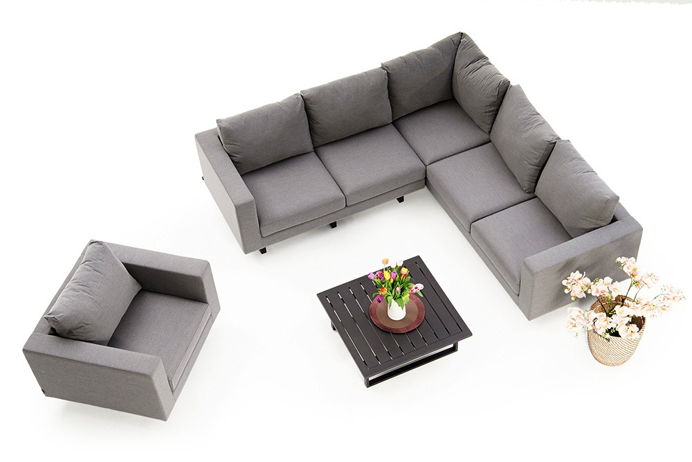 Lounge Sofa 2 Sitzer Outdoor Outdoor Allwetter Lounge Melody Deluxe