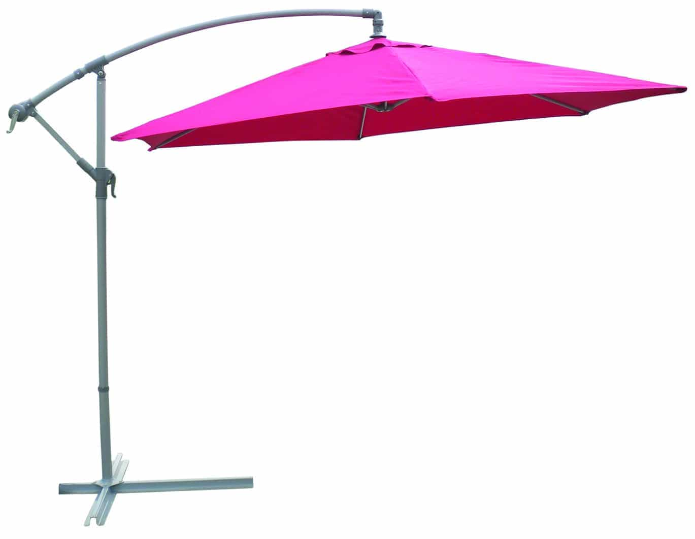 3m Banana Aluminium Parasol Cream Garden Furniture Ireland Outdoor Furniture Ireland - Garden Furniture Clearance Parasols