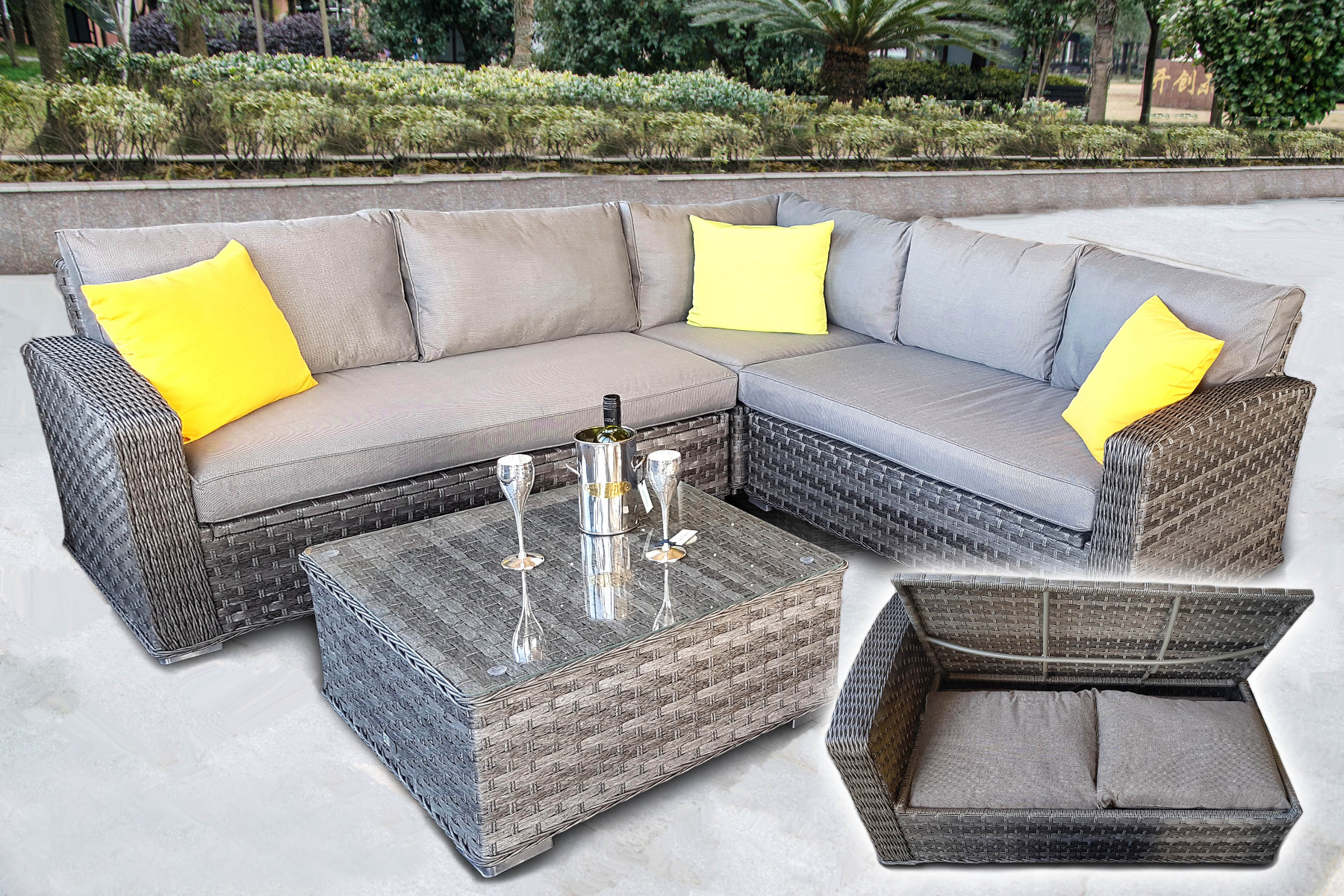 How To Protect Outdoor Rattan Furniture In Winter Blog - Garden Furniture Clearance Tunbridge Wells