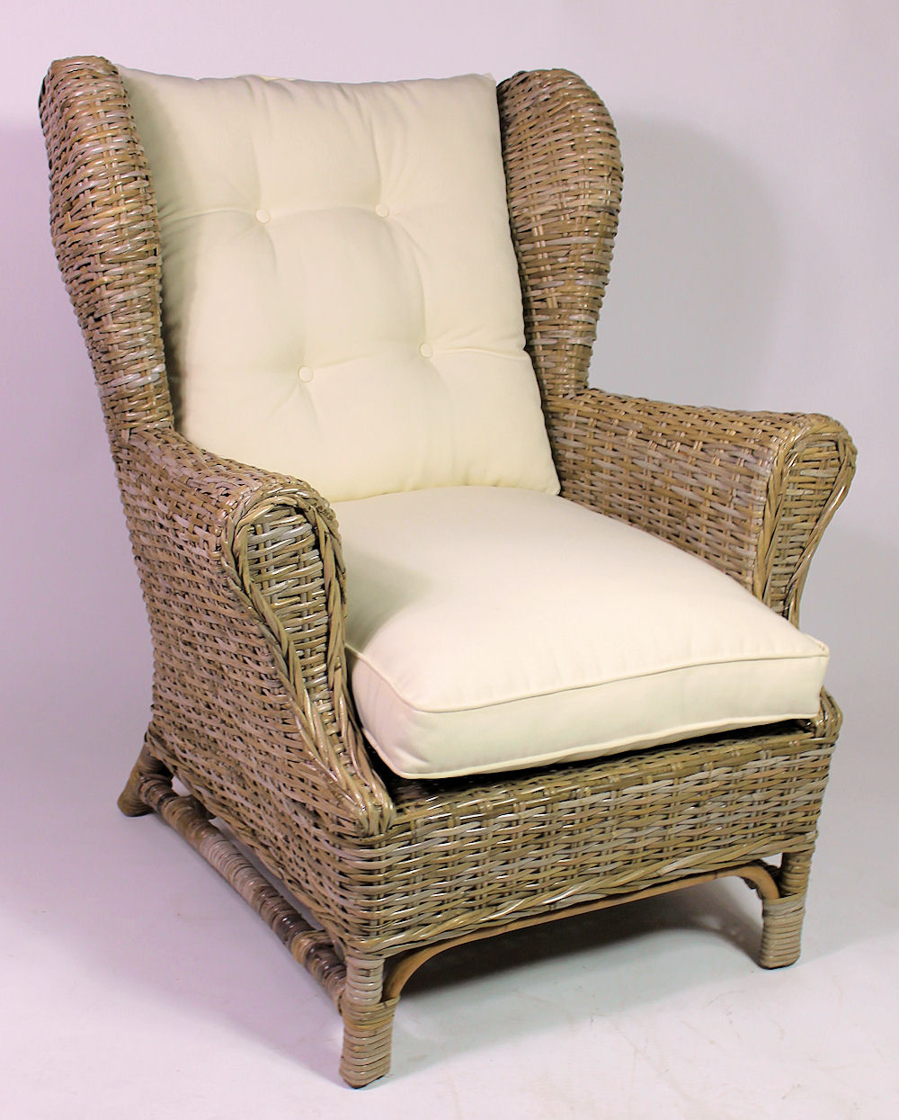 King Chair Sessel Rattani De Rattan Ohrensessel King Chair Rattansessel