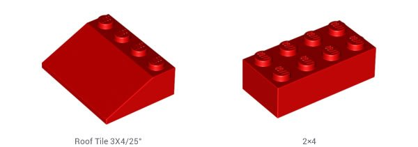 LEGO-roof tile