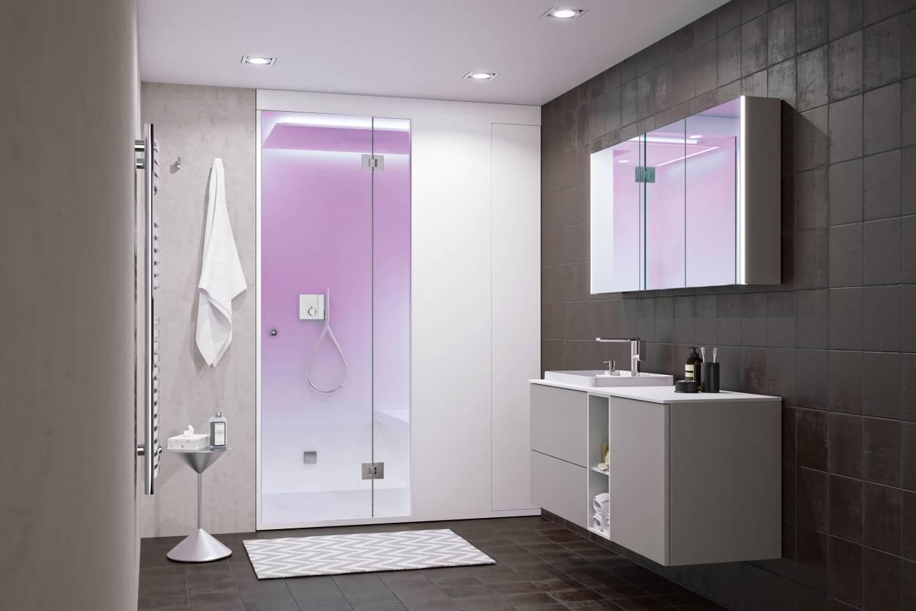 Bad Auf Kleinstem Raum | Ein Edles Gästebadezimmers Mit Wc Auf ...