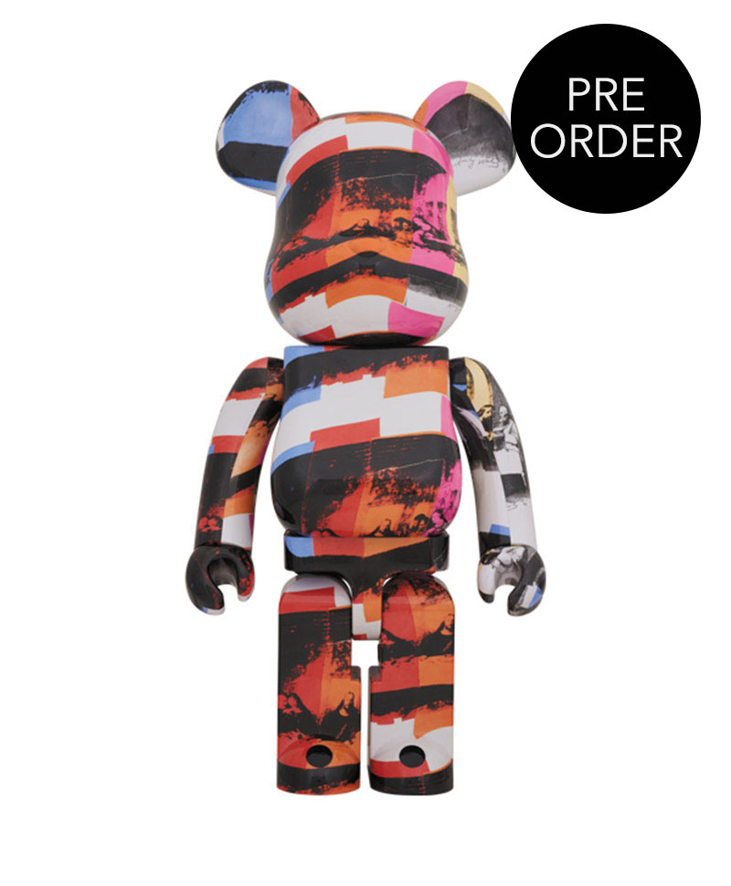 "Küchenutensilien Comic Bearbrick Andy Warhol ""the Last Supper"" - Raum Concept Store"