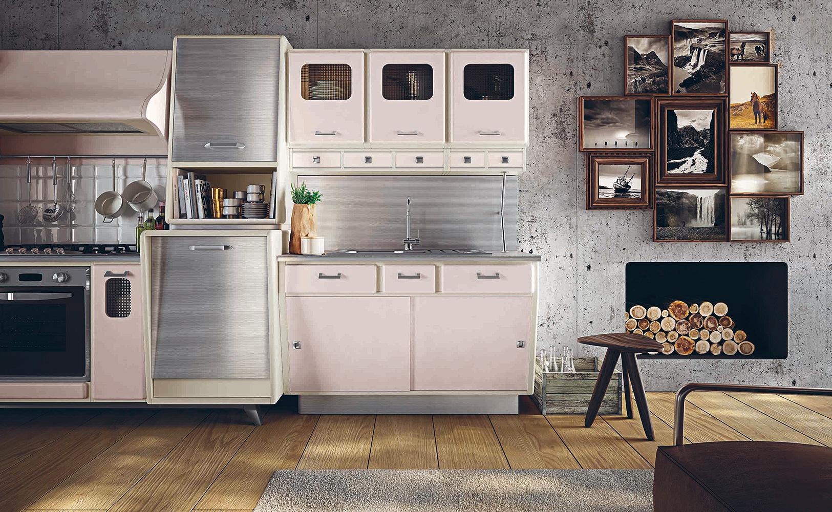 Küche Vintage Stil | Küchenzeilen Im Landhausstil Edle Landhausküchen