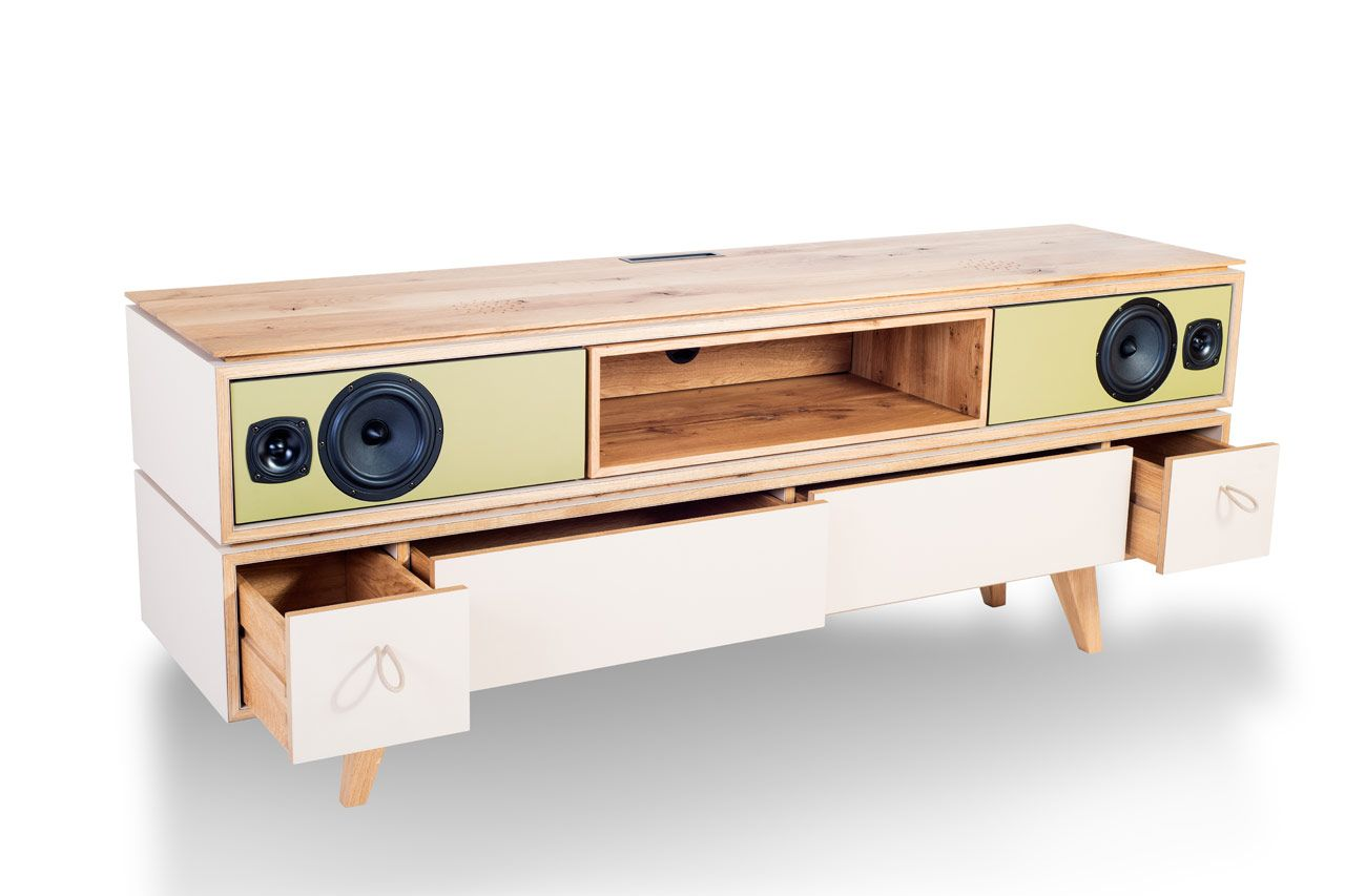 Hifi Kommode Sideboard Freiburg High Lowboards And Schwebeboards
