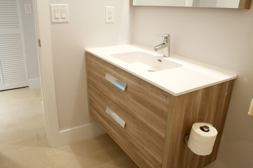 Medium Of Wall Mounted Vanity
