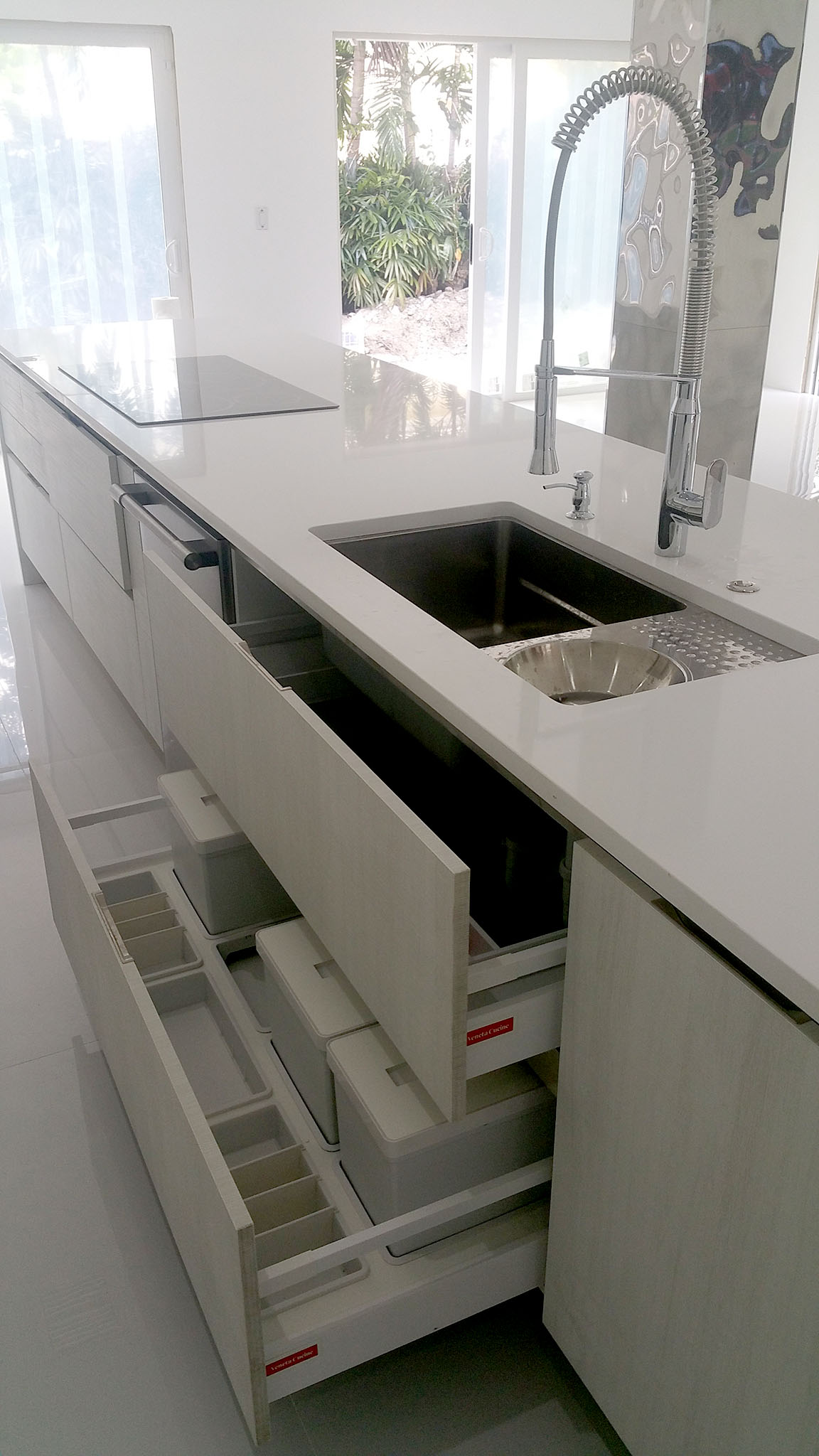 Italian Kitchen Cabinet Italian Kitchen Design In White Miami General Contractor