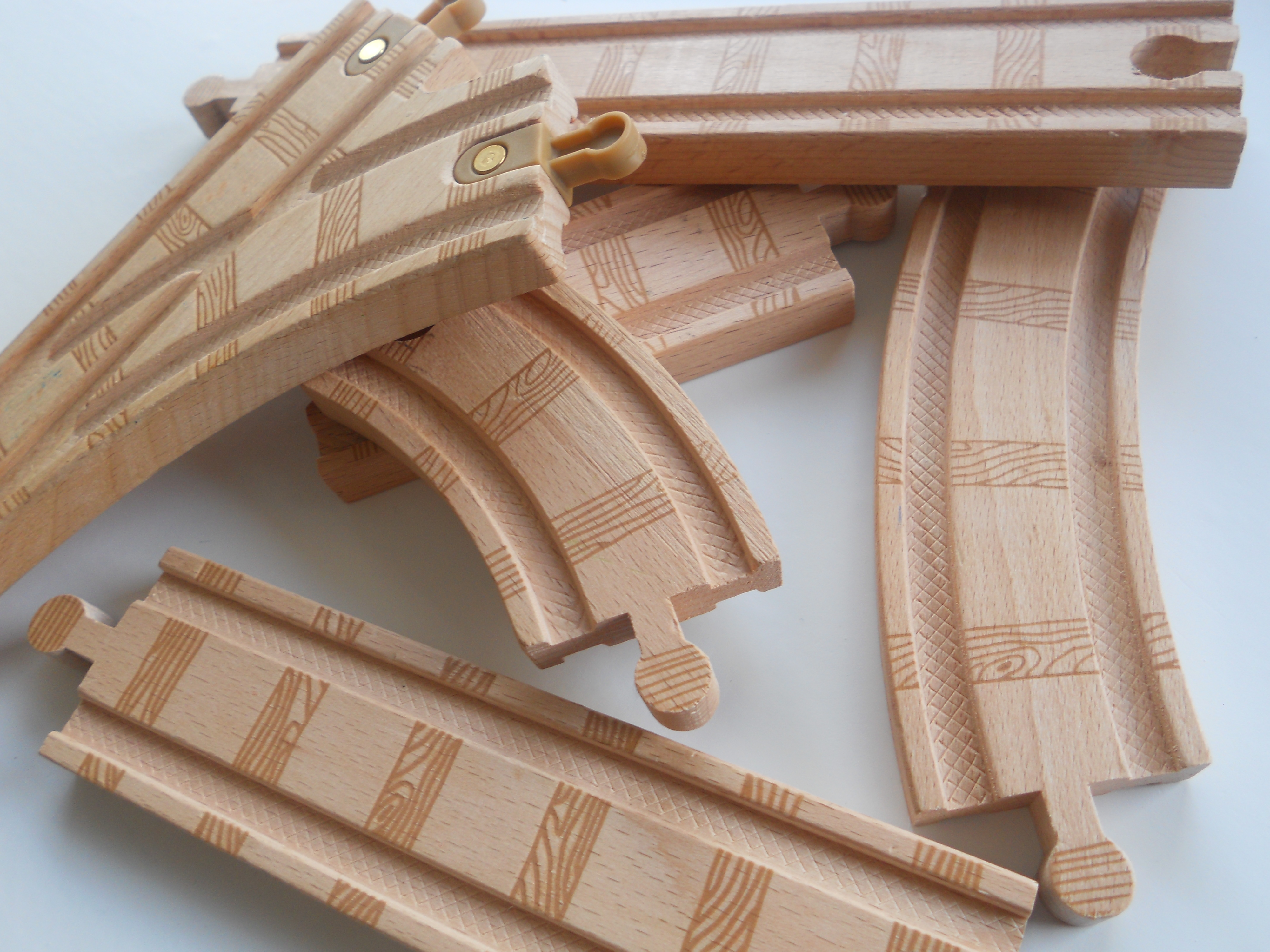 Wooden Train Tracks Wooden Train Tracks These Items Have Just Been Ravenated