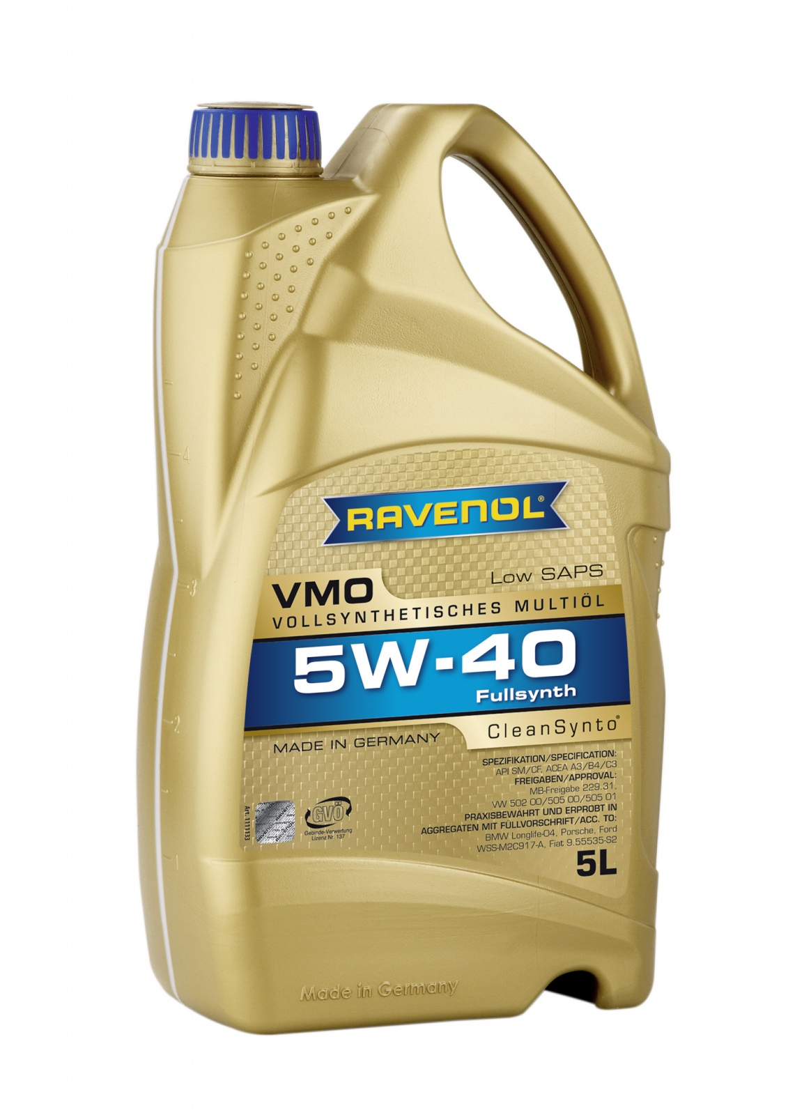 5 W 40 Ravenol Uk Ravenol Vmo 5w 40 Engine Oil