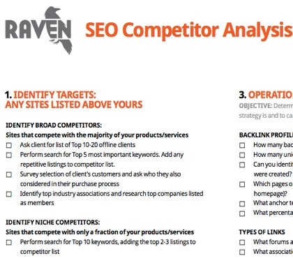 competitor reports - Alannoscrapleftbehind - competitor analysis report
