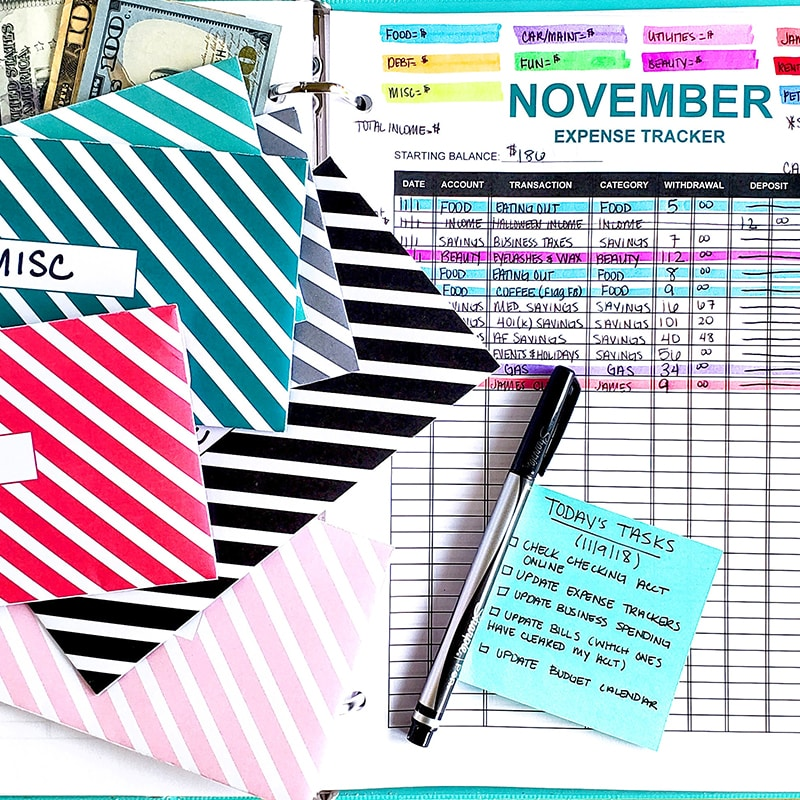 My 15-Minute Budgeting Routine - The Budget Mom