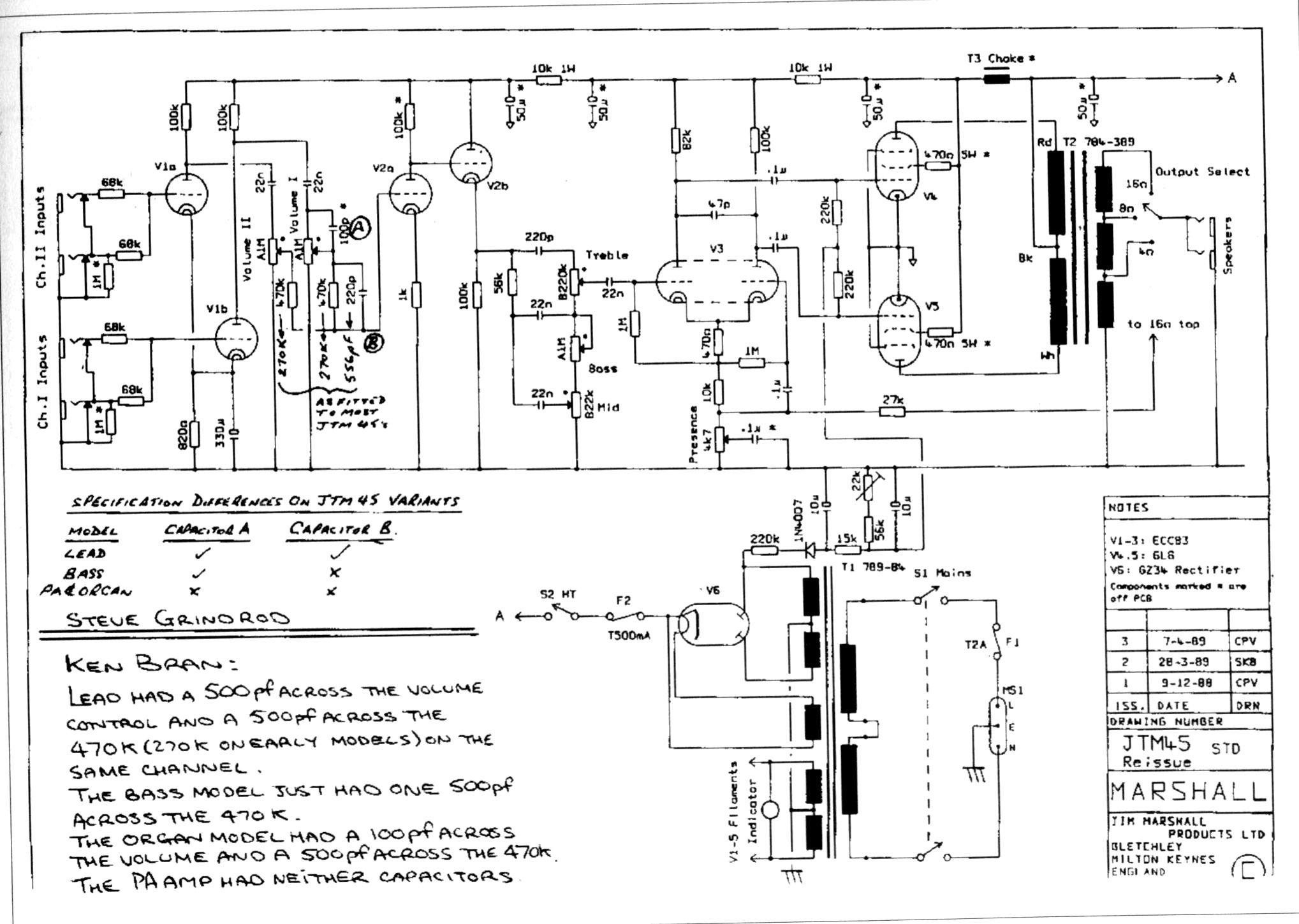 marshall bluesbreaker diagram