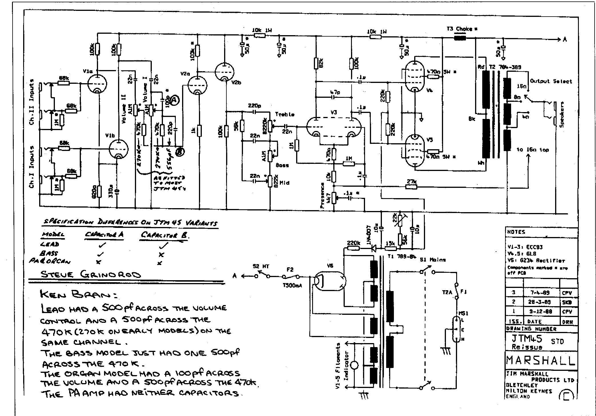 marshall bluesbreaker amp schematic