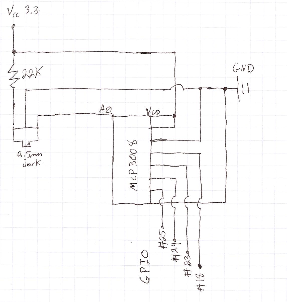 wiringpi mcp3008 circuit