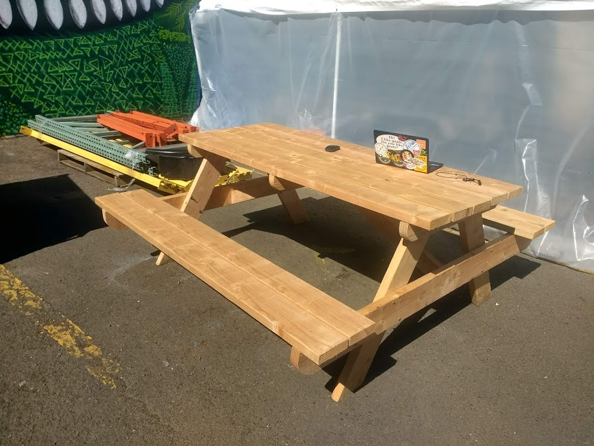 Template Picnic Table