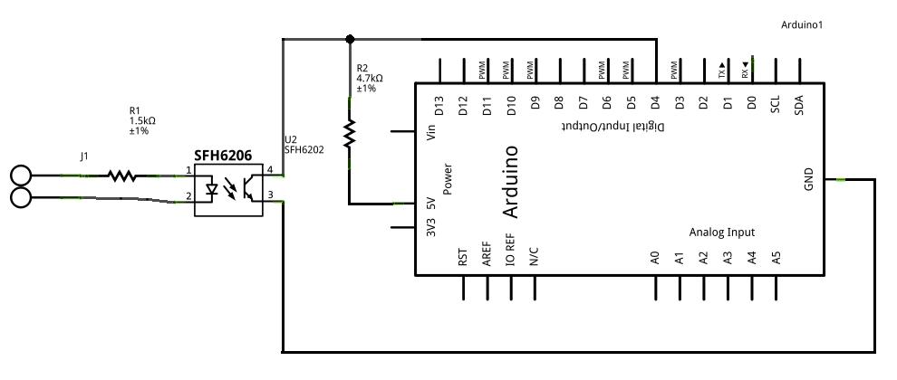 mini schema cablage debimetre d