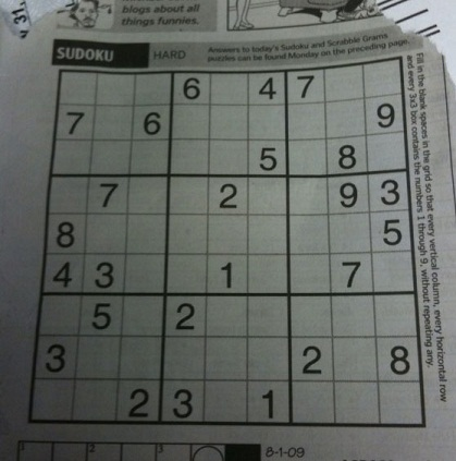 GitHub - mjchao/Sudoku-Solver Recognizing an Image of a Sudoku