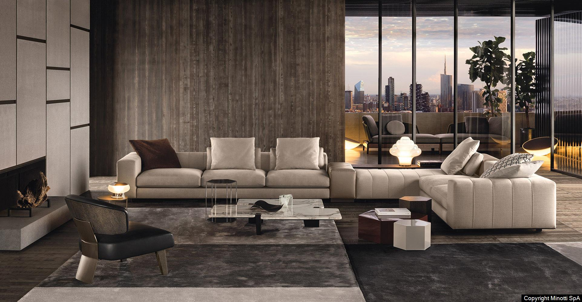 Appartement Interieur Design Minotti - Raw Interiors
